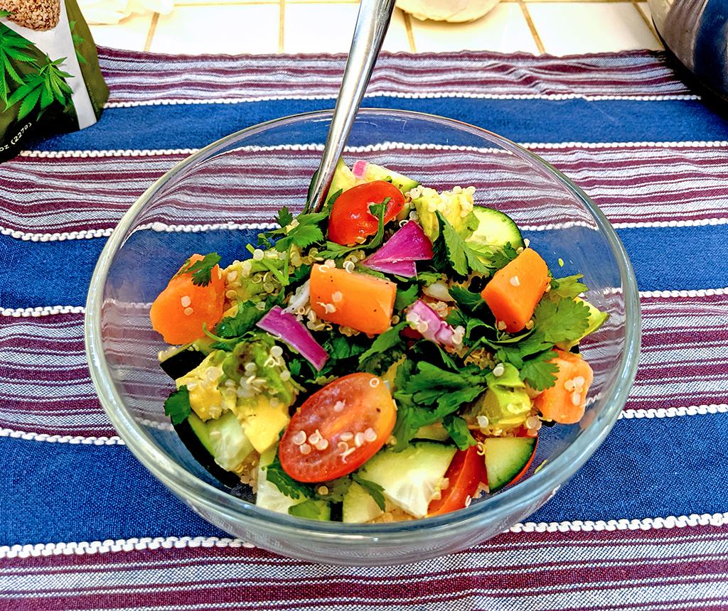 Healthy Recipe: Lunch - Sweet Potato Bowl
